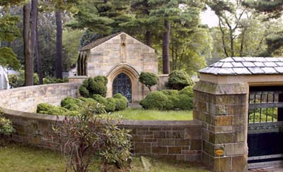 Edward Harkness Mausoleum at Woodlawn Cemetery