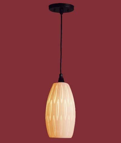 pendant lighting - embossed