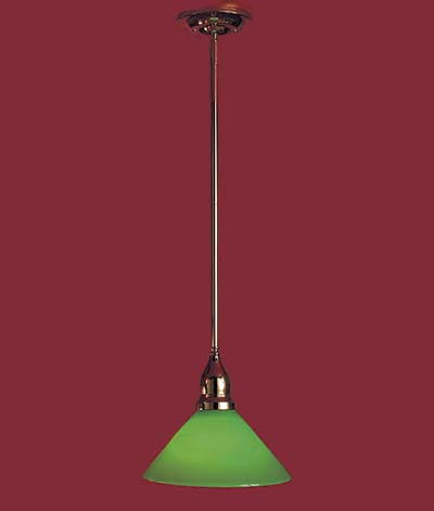 pendant lighting - bankers light
