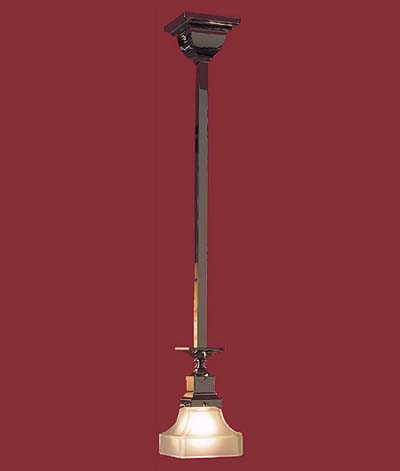 pendant lighting - mission style