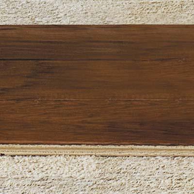 EcoTimber's hand-scraped hickory flooring