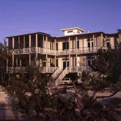 exterior of Key Largo eco-friendly house