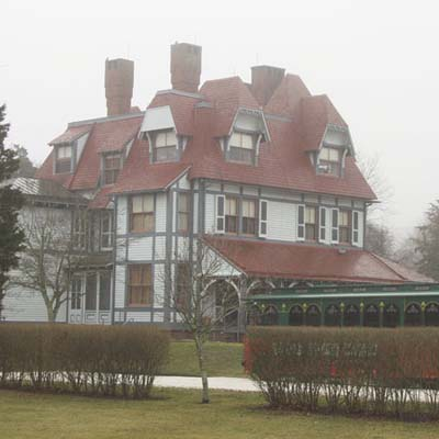 the haunted historical house, the emlen physick estate, in new jersey