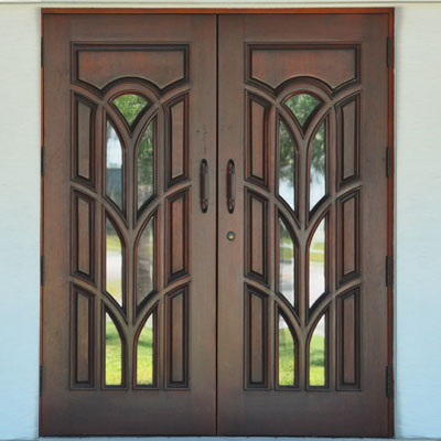 custom architectural doors found at the 2011 International Builder's Show