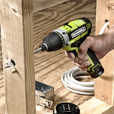 twelve volt impact driver, drill, and screwdriver combo found at the 2011 International Builder's Show