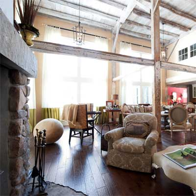 Carlisle Greek Revival With Attached Barn from best homes from toh tv by kevin o'connor