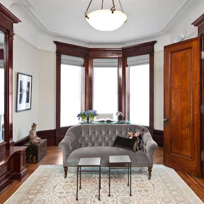 New York Brownstone parlor floor from best homes from toh tv by kevin o'connor