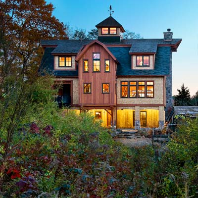 Weston Timber Frame from best homes from toh tv by kevin o'connor