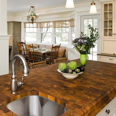 West Newton Shingle-Style open kitchen from best toh tv home remodels by kevin o'connor