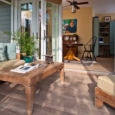 Austin Green Renovation screened porch from best toh tv home remodels by kevin o'connor