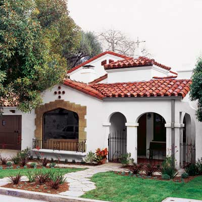 exterior of period style home