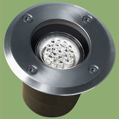 led light for use in exterior landscape lighting