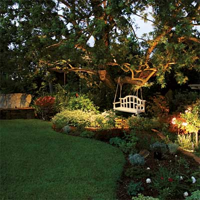 Garden Design With Lighting Design: Inviting Backyard All About Landscape  Lighting With Backyard Ideas For