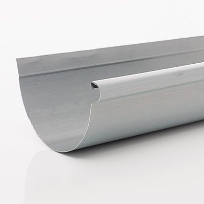 piece of zinc gutter