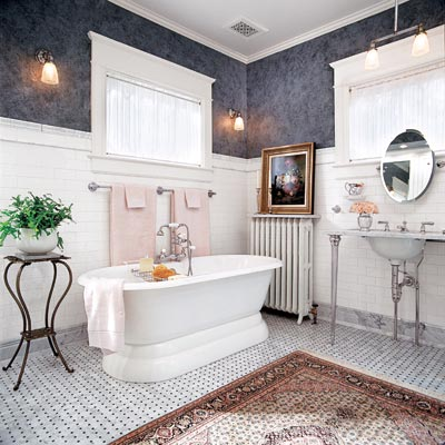 Victorian Vibe Editors Picks Our Favorite Blue Bathrooms This Old House