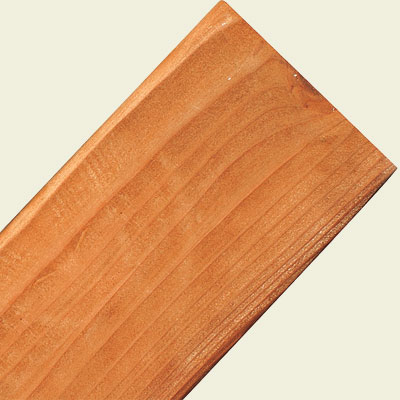 cedar and redwood decking material
