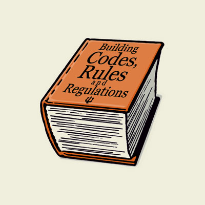 illustration of rules and regulations book