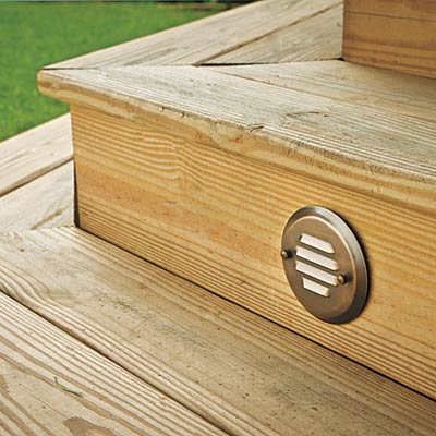 deck riser light