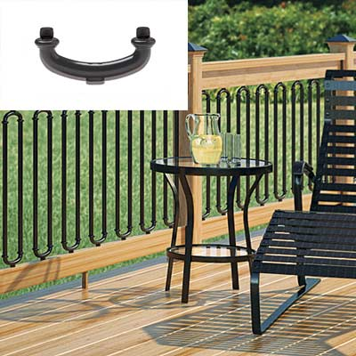 deck baluster connector