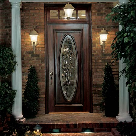 Front door exterior lighting right where you need it for Exterior front door lights
