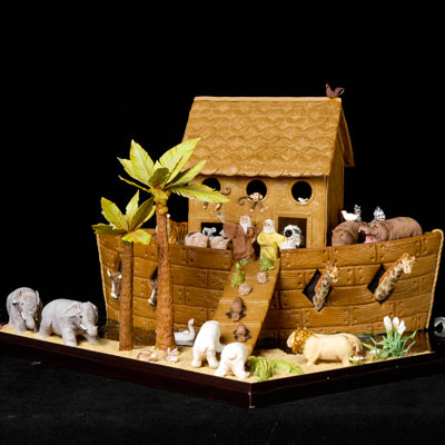 Gingerbread Noah's Ark