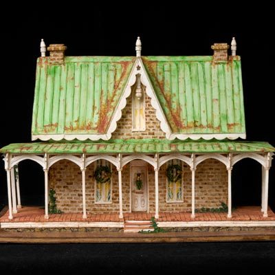 Rusted Roof Gingerbread House