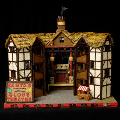 Gingerbread Globe Theatre