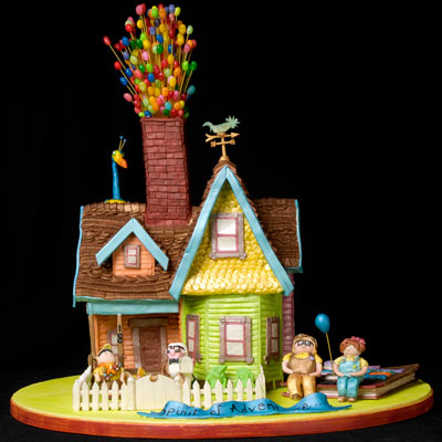 Gingerbread Up House