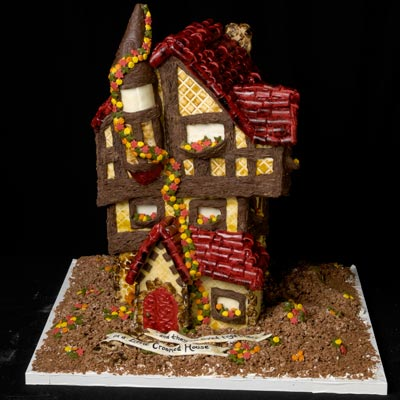 Crooked Gingerbread House