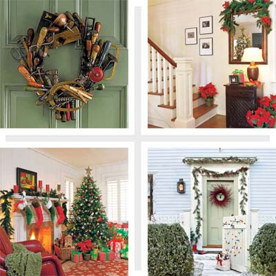 Holiday decorating in This Old House magazine