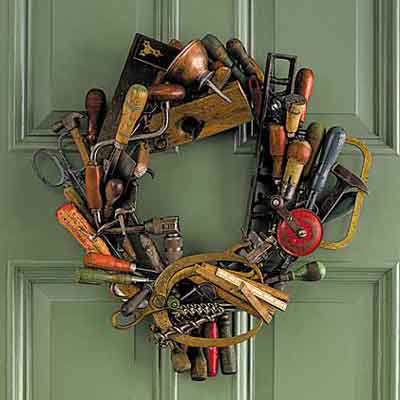 tool themed wreath editor 39 s picks our favorite holiday