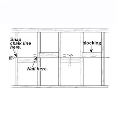 illustration of wall blocking