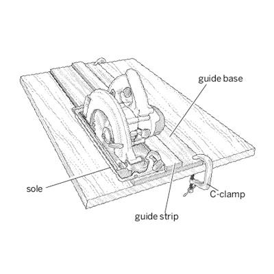 illustration of circular saw
