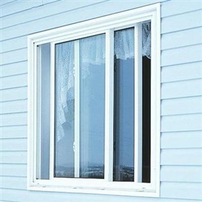 sliding window slightly ajar