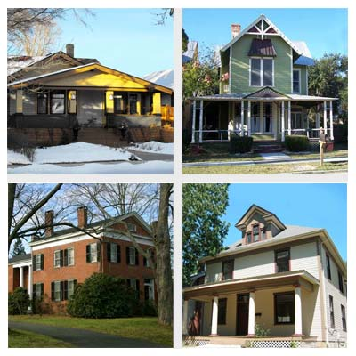 best old house neighborhoods for fixer-uppers