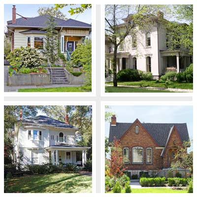 best old house neighborhoods for gardening 2011