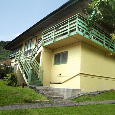 a house in Lower Nu'uanu, Honolulu, Hawaii