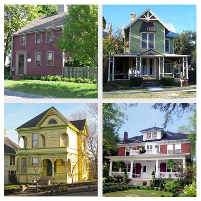 best old house neighborhoods for retirees