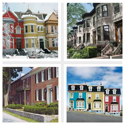 best old house neighborhoods for rowhouses 2011
