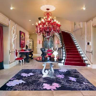 Christina Aguilera's house for sale, interior detail