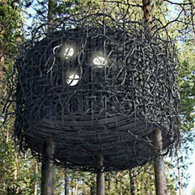 Treehotel in Village of Harads, Sweden