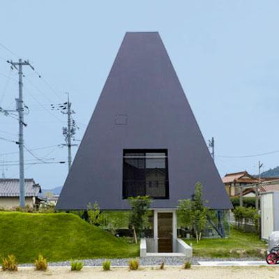 Pyramid Shaped Homes