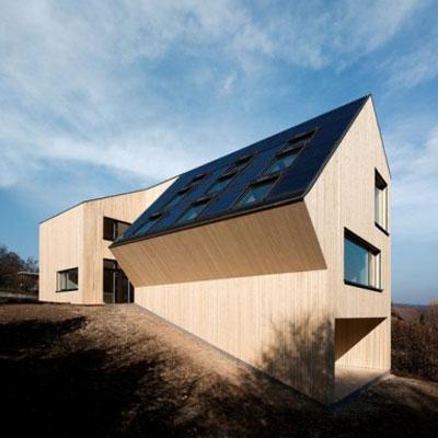 the Velux Sunlighthouse in Pressbaum, Austria