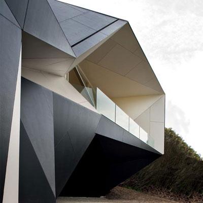 the Klein Bottle House in Rye, Australia