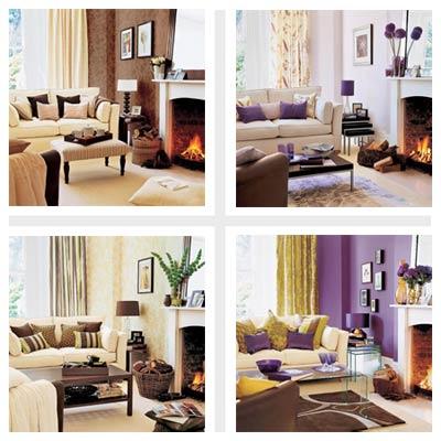 four living room designs