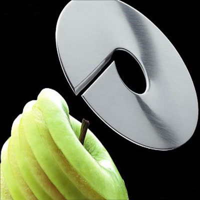 an apple slicer made by Mono-Giro