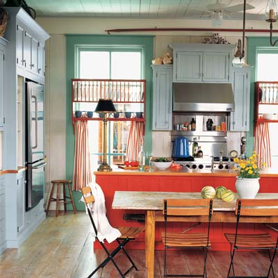 Rustic and Relaxed | How to Create a Colorful Cottage Kitchen