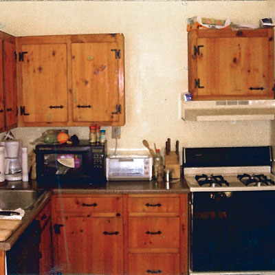 Nicolussi kitchen before the remodel
