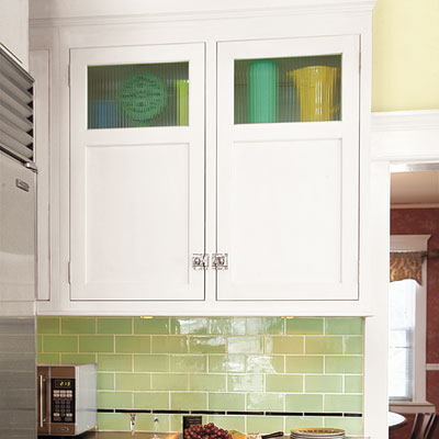 Display kitchen cabinets