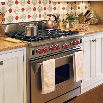 Pro-grade range oven
